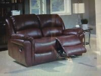 Reclining Two Seat Settee