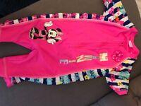 Disney swim costumes ages 3-4