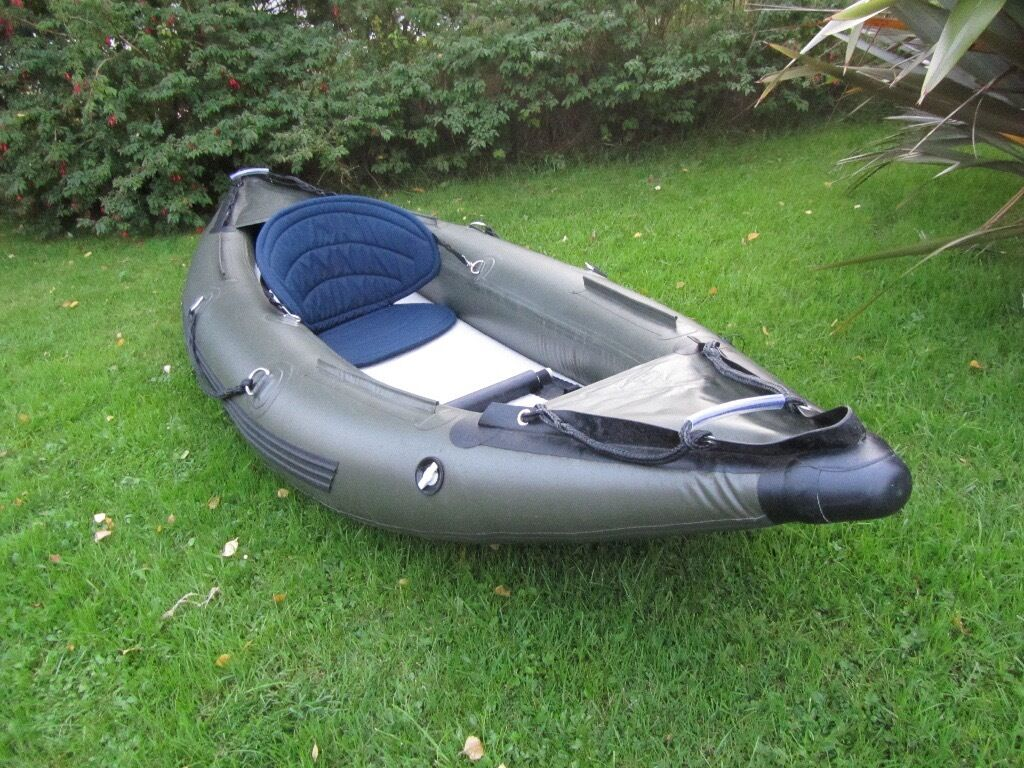 Bison Inflatable Kayak, Canoe  Fishing, Rafting  | in
