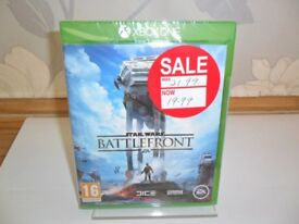 Xbox One Game: Star Wars Battlefront - Brand New & Sealed. For use with Xbox One.