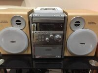 Philips MCM9 Micro HiFi system with radio, CD player and tape.