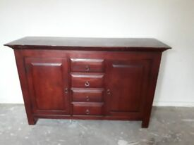 Large Sideboard very well constructed Heavy solid unit Ideal project for painting