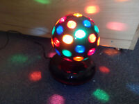 Disco ball with new bulb