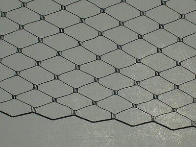 "Black birdcage veil netting hat net over sized yards 36""+ x 9"""