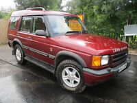2001 Y LAND ROVER DISCOVERY 2.5 GS AUTO 4X4 FSH TOW BAR TWIN SUNROOF CRUISE EXCELLENT DRIVE PX SWAPS