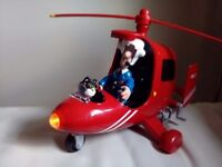 Postman pat helicopter with light and sounds
