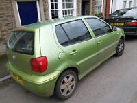 Vw polo for sale, spares or repairs
