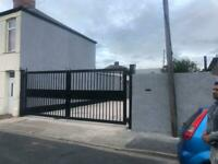 garage workshop and secure yard to rent Newport