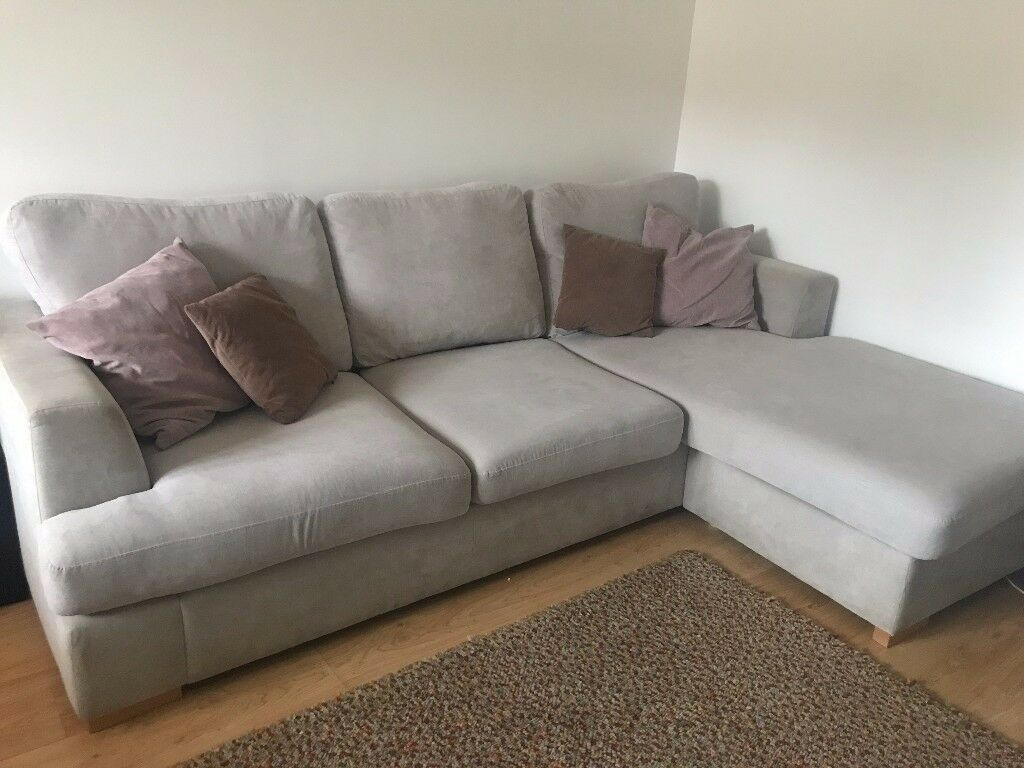 Corner Sofa L R Grey In Ipswich Suffolk Gumtree