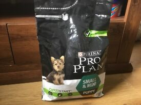 Pro plan puppy dry food