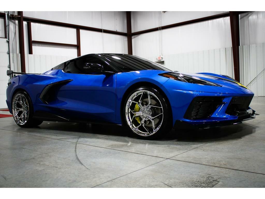 2021 Blue Chevrolet Corvette   | C7 Corvette Photo 7