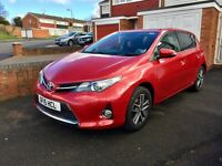 Toyota Auris, 2015, Red, 1.6 Petrol, 6 Speed Manual, Only 21k Low Miles, TOP SPEC, Bargain Price