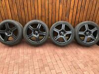 Genuine 19 AMG Mercedes alloy wheels
