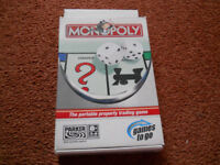 Monopoly Travel Game