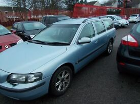 *VOLVO V70 S *ESTATE* 20 VALVE*AUTOMATIC *FULL YEARS MOT*BARGAIN TRADE IN TO CLEAR AT ONLY £995!*