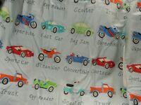 Children's bedroom curtains