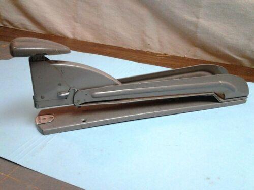 Vintage Retro Swingline Speed Stapler Long Reach Gray Industrial Heavy Duty