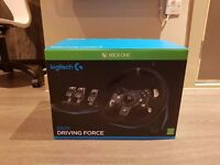 Logitech Steering Wheel G920 & Pedals ( NEW, Never Used)