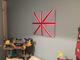 Union Jack notice board