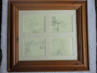 Winnie-the-Pooh framed prints from E.H Shepard drawings