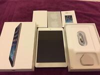 Sliver/white Ipad Mini 1 Wifi and Cellular