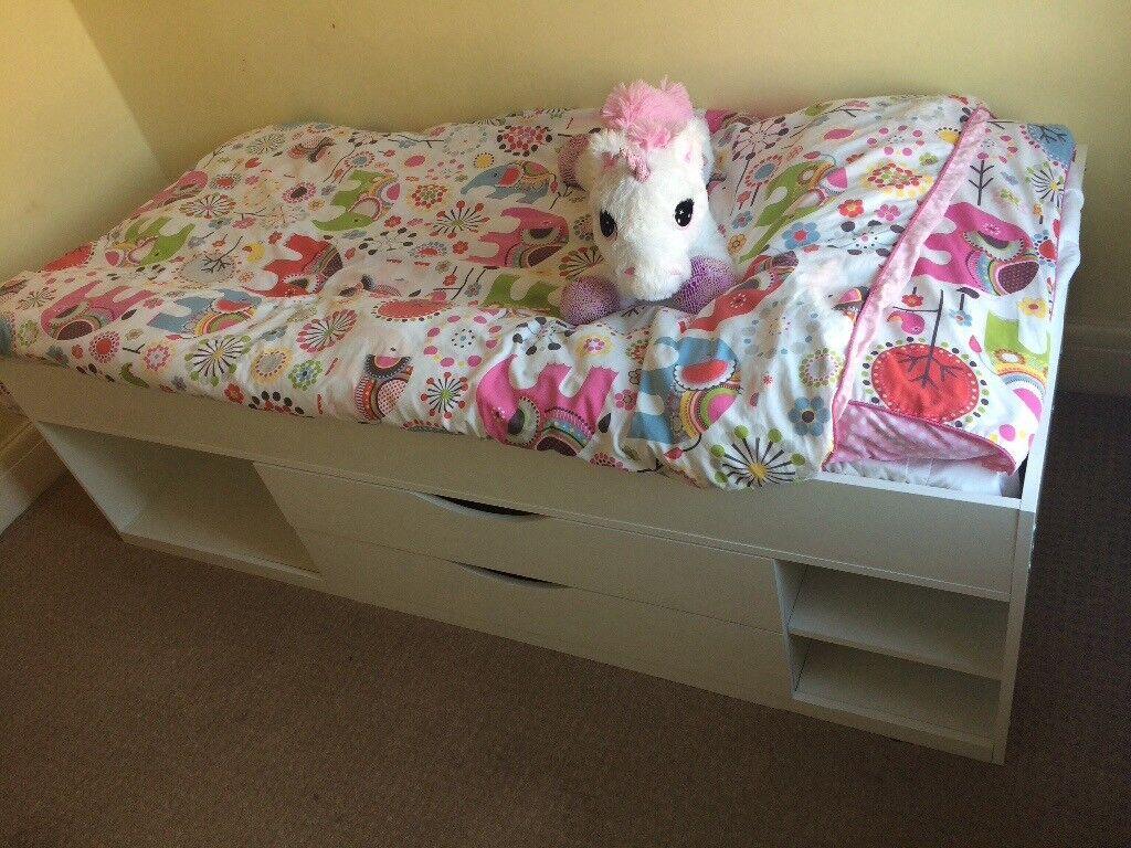 Children's Short Cabin Bed