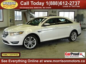 2013 Ford Taurus SEL, Leather, Sunroof, 44km!!