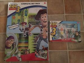 Toy Story Art Sets : Unopened