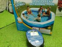 LARGE INFLATEABLE POOL