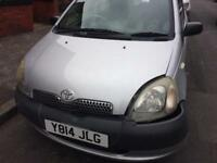 Toyota Yaris spare or repair start and drive £160
