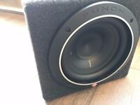 Alpine amps and Rockford Subwoofer