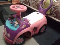 Disney Doc McStuffins ride on/push along car
