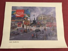 Piccadilly Circus print