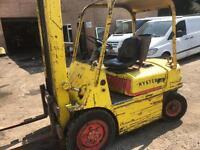 Hyster 2.5 ton diesel forklift good working order