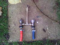caravan / camper brass mixer tap