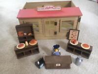 Vintage sylvanian families bakery
