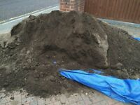 FREE TO COLLECT - 10mm topsoil super soil, left over from job.