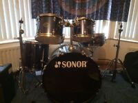 Drum kit - Sonor Smart Force Drum kit for sale