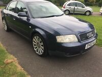 2002 Audi A6 2.5 diesel Quattro manual leather drives perfect good strong engine mot