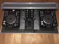 Denon CDJ/Pioneer mixer