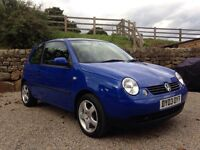 VW Lupo 1.0i E 3 Door - 2003 -51,205 miles - Just Serviced - Stunning!
