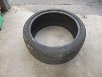225 / 40 ZR 18 / 225/40ZR18 Tyre, still has 6mm of tread from the original 8mm