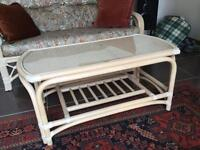 Coffee table to match conservatory suite