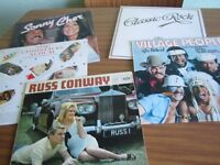 A Selection Of Vinyl Records