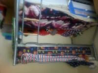 metal triple sleeper bunk bed