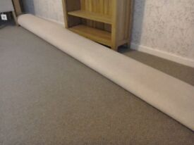 Roll of carpet 11ft X 6ft in mushroom