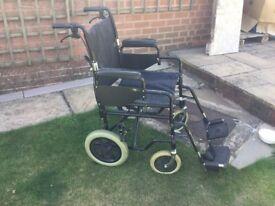 Enigma Drive Lightweight Transit Wheelchair