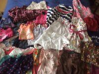 Age 4-5 Girls bundle of 33 items inc Joules, Next, Gap, Fat Face, Hatley, Crew, Benetton & Boden.