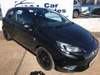 VAUXHALL CORSA 1.4 SRI ECOFLEX S/S 3d 99 BHP A GREAT EXAMPLE INSIDE AND OUT (black) 2015