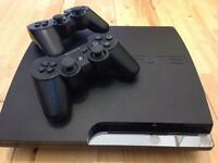 Sony PS3 Console with 13 games, 2 controllers, 1 motion controller, eye camera, headset & all cables